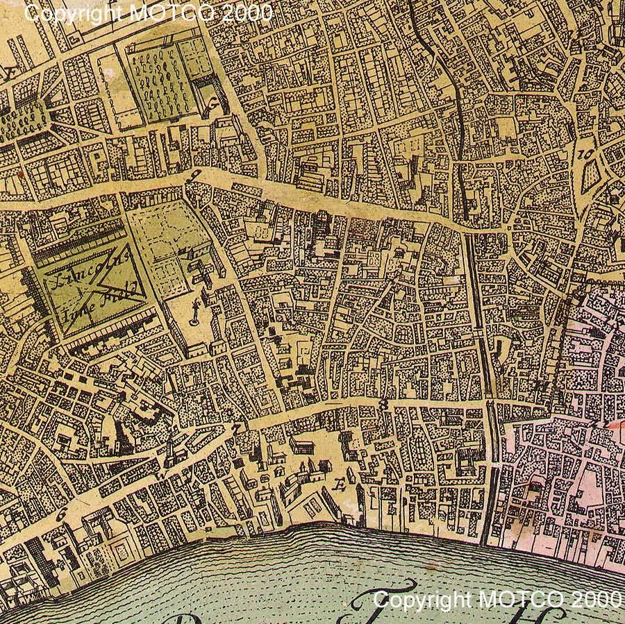 Gaubert Early London Maps